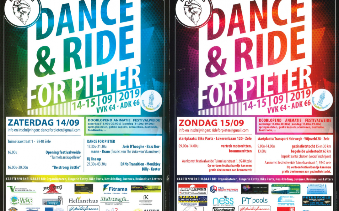 Dance & Ride for Pieter