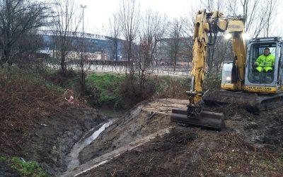 Wateroverlast Gent